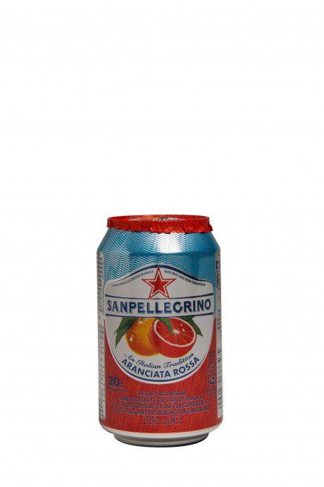 Sanpellegrino Aranciata Rossa (24 blikjes)