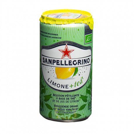 Sanpellegrino Limone+tea (24 blikjes)