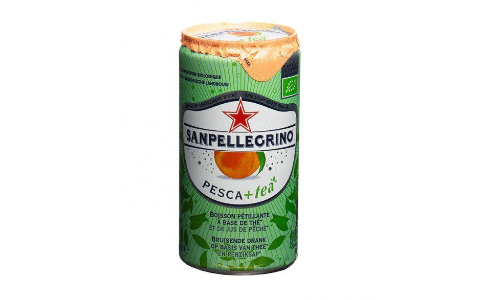 Sanpellegrino Pesca+tea (24 blikjes)