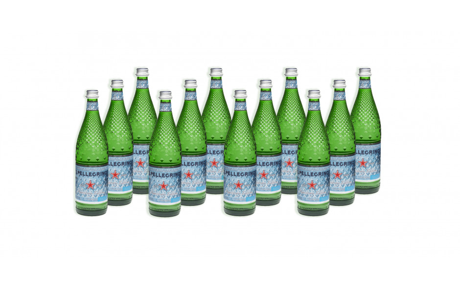 S.Pellegrino Diamond bottle